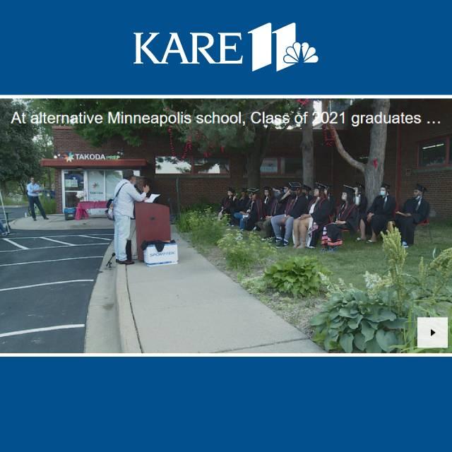 AT ALTERNATIVE MINNEAPOLIS HIGH SCHOOL, CLASS OF 2021 GRADUATES PERSEVERE THROUGH DIFFICULT TIMES